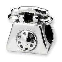 Sterling Silver Reflections Kids Telephone Bead