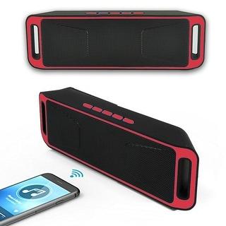 Indigi® Bluetooth Speakers (Red) Outdoor & Sport Stereo Bluetooth Wireless Waterproof