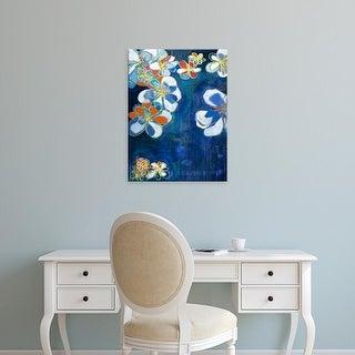 Easy Art Prints Jodi Fuchs's 'Night Blooms I' Premium Canvas Art