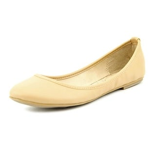 Mia Ballerina Round Toe Synthetic Flats