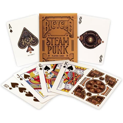 Bicycle Bronze Steampunk Playing Cards - Multi