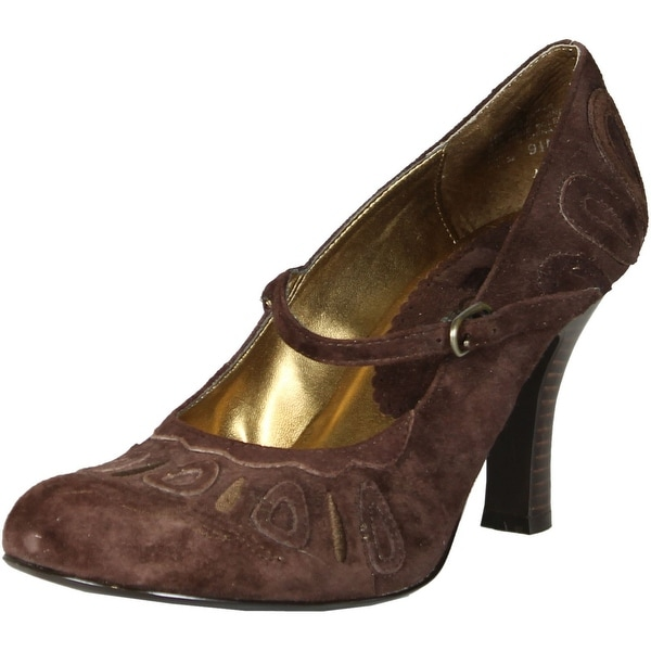 Tribeca By Kenneth Cole Womens Heidi Pumps Shoes - Brown - 9.5 b(m) us