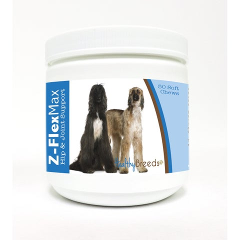 Healthy Breeds Afghan Hound Z-Flex Max Hip and Joint