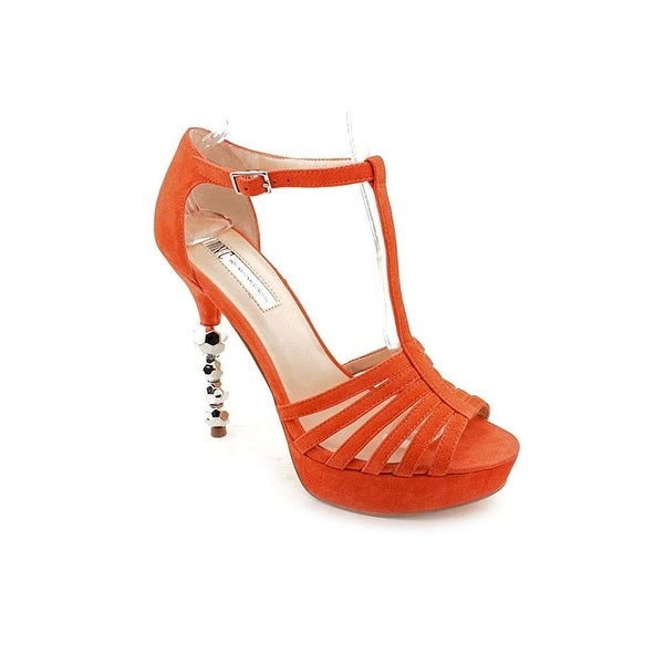 INC International Concepts Womens MYLO2 Peep Toe Special Occasion Ankle Strap...