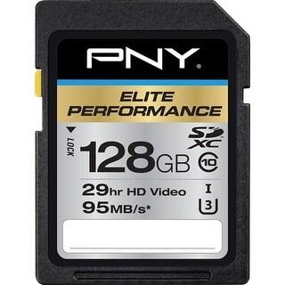 PNY Technologies P-SDX128U395-GE PNY Elite Performance 128 GB SDXC - Class 10/UHS-I (U3) - 95 MB/s Read