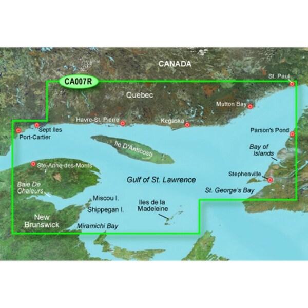 Garmin Bluechart G2 Vision VCA007R (SD Card) Les Mechins to St Georges Bay - Blue