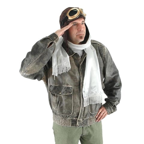 Steampunk Aviator Costume Accessory Kit Adult - Brown
