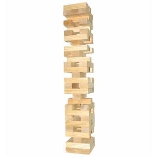 Giant Toppling Timbers Tower - Stacking Blocks Game - 54 Blocks