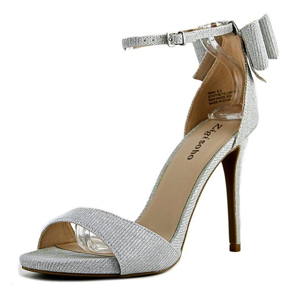 Zigi Soho Remi Women Open Toe Synthetic Silver Sandals