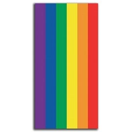 Rainbow / Gay Flag Beach Towel 30X60