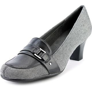 A2 By Aerosoles Culinari Women  Round Toe Canvas Gray Heels