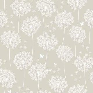 Brewster Dandelion Peel and Stick Wallpaper Kids Dandelion Wall Pops Wallpaper