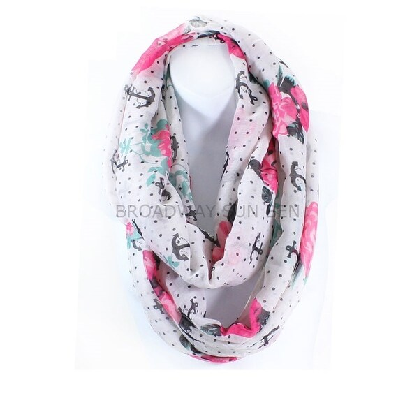 d61722757 Shop Anchor Rose Infinity Scarf Lightweight - On Sale - Free ...