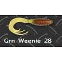 Big Bite Ring Triple Grub 2' 10ct Green Weenie