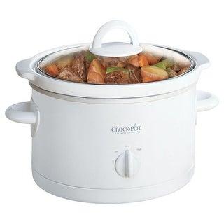 Rival 5025-WG 2.5-Quart White Crock Pot Slow Cooker