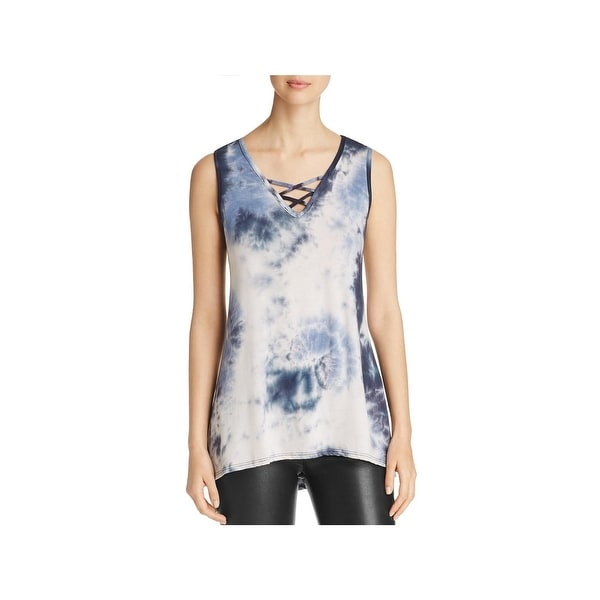 184858a4a2ecfd Shop Alison Andrews Womens Tank Top Tie-Dye Sleeveless - Free ...