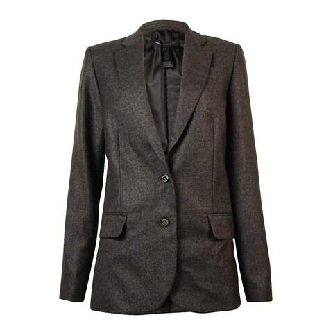 Marc by Marc Jacobs Women's 'Sparkle Suiting' Blazer - charcoal melange multi
