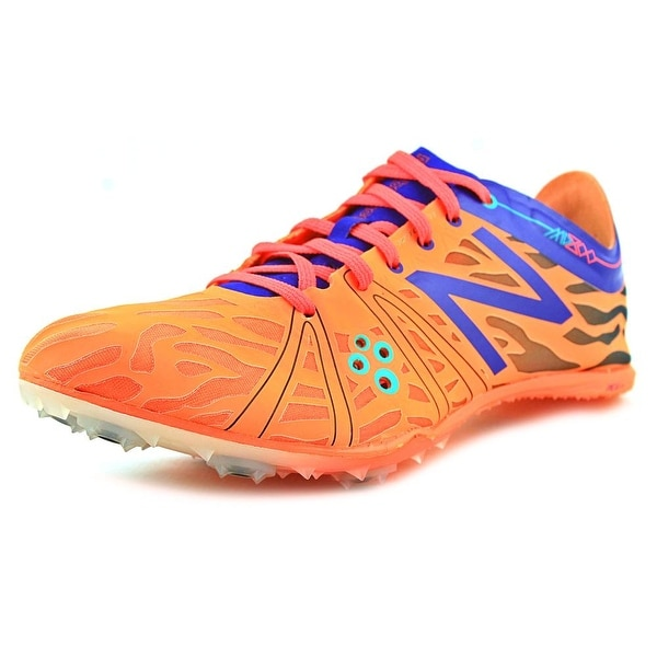 New Balance WMD800 Women Round Toe Synthetic Orange Cleats