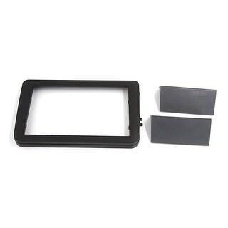 Black Plastic Car Audio Stereo System Frame Holder Installation Panel for VW