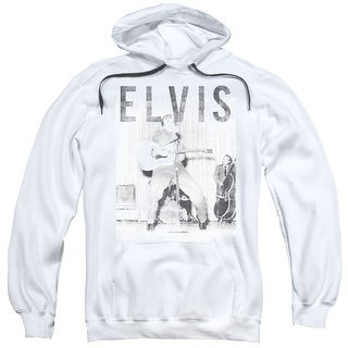 Elvis With The Band Mens Pullover Hoodie