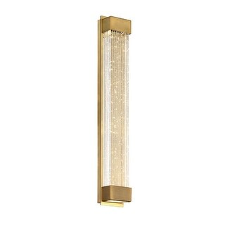 """Modern Forms WS-58820 Tower Single Light 20"""" Tall Integrated LED Wall Sconce"""