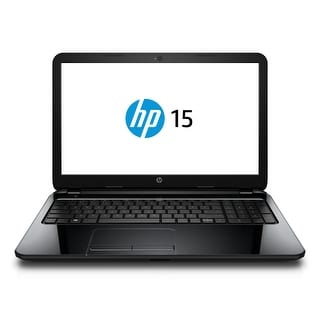 """HP 15-F269NR 15.6"""" Touch Notebook Intel i3-4005U 1.7GHz 6GB 1TB Windows 10 Home"""