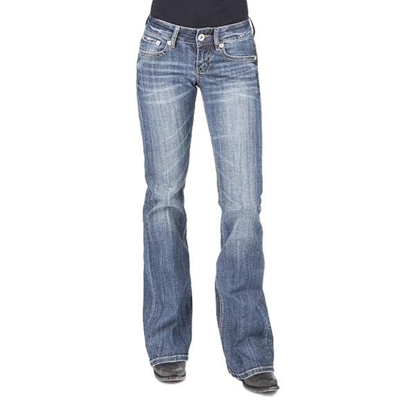 Stetson Western Denim Jeans Womens Bootcut Slim. Opens flyout.