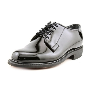 Bates High Gloss Uniform 3E Round Toe Synthetic Oxford