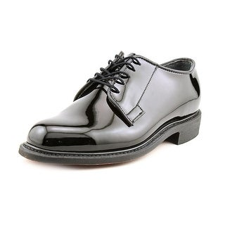 Bates High Gloss Uniform Men C Round Toe Synthetic Black Oxford