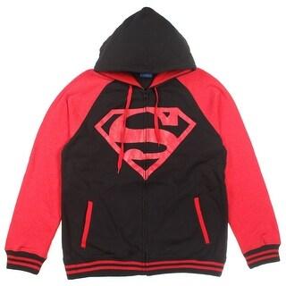 DC Comics Superboy Red Hood Raglan Hoodie