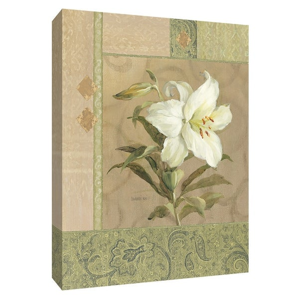 """PTM Images 9-154578 PTM Canvas Collection 10"""" x 8"""" - """"Summer Lily"""" Giclee Lilies Art Print on Canvas"""