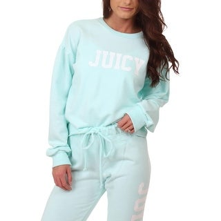 Juicy Couture Womens Sweatshirt French Terry Logo
