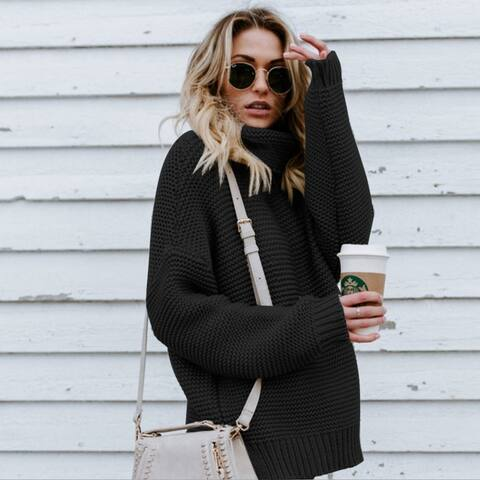 Sweater Knit Women's Long Section