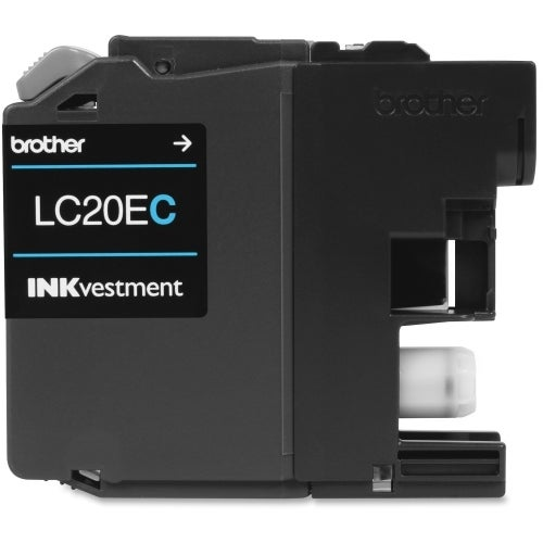 """""""Brother LC20EC Brother LC-20EC Ink Cartridge - Cyan - Inkjet - Super High Yield - 1200 Page - 1 Pack - OEM"""""""