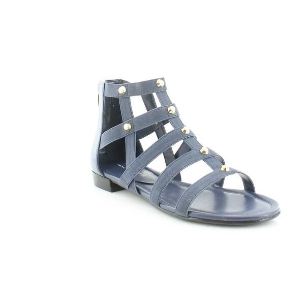 Marc Fisher Pammy Women's Sandals & Flip Flops Dark Blue