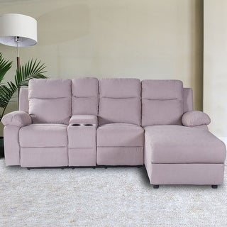 Link to Celipu Manual Retractable Linen Recliner Sofa Similar Items in Sofas & Couches