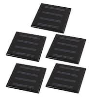5Pcs 55mmx55mm 2 Volts 25mA Polycrystalline Solar Cell Panel Module