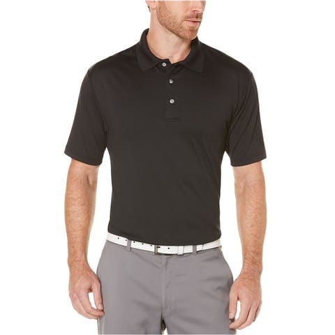 Pga Tour Mens Motion Flux Performance Rugby Polo Shirt