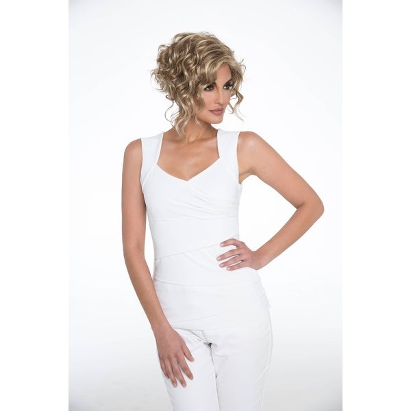 Kelsey by Envy Wigs - Synthetic, Open Top Wig