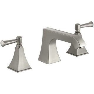 Kohler K-T469-4S Double Handle Roman Tub Trim with Metal Lever Handles from the Memoirs Stately Series