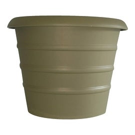 "Myers 12""Sl Green Marina Pot"