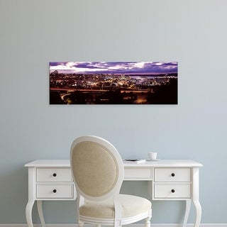 Easy Art Prints Panoramic Images's 'Aerial view of a city, Tacoma, Pierce County, Washington State, USA' Canvas Art