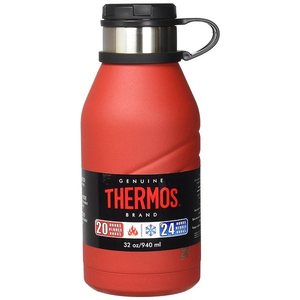 9ccf9c9dc3 Shop Thermos Element 5 Insulated 32oz Beverage Bottle w/ Screw Top Lid, Red  - Free Shipping On Orders Over $45 - Overstock - 19848877