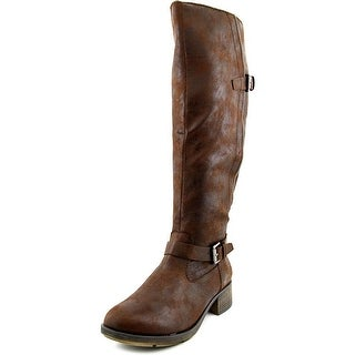 Style & Co Gayge Wide Calf Women Round Toe Synthetic Knee High Boot