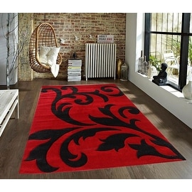 Hand Carved Turquoise Gold Wool Rug 7 Square