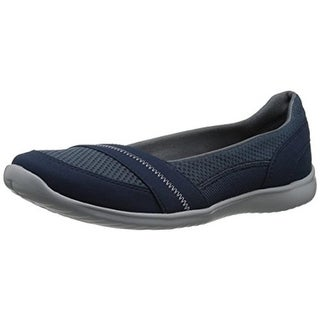 Clarks Womens Charron Bella Mesh Casual Flats - 9 medium (b,m)