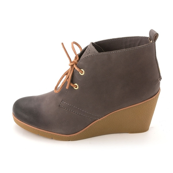 7165ebbcb36 Shop Sperry Top-Sider Women s Harlow Wedge Ankle Booties - Free ...