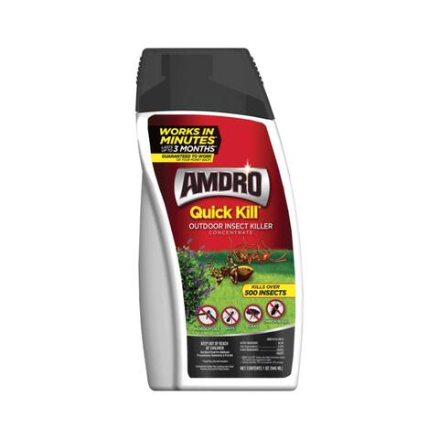 Amdro 100522992 Quick Kill Outdoor Insect Killer Concentrate, 32 Oz