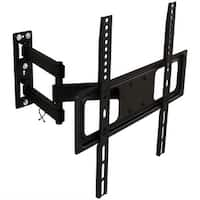 CASL Brands Full-Motion TV Wall Mount Bracket Set for 32-55 Inch Flat Screen TVs