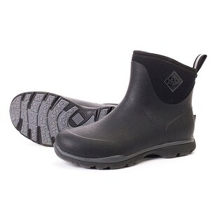 Muck Boots Men's Arctic Excursion Ankle Series w/ Full Rubber Exterior & Warm Fleece Lining